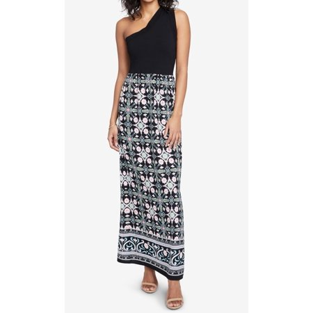 Womens Large Printed Maxi Dress L