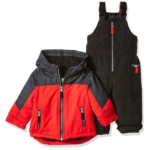 Carter's Boys 12-24 Months Pieced Jacket Snowsuit (Red 18...
