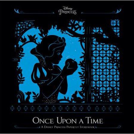 Once Upon a Time : A Disney Princess Papercut Storybook
