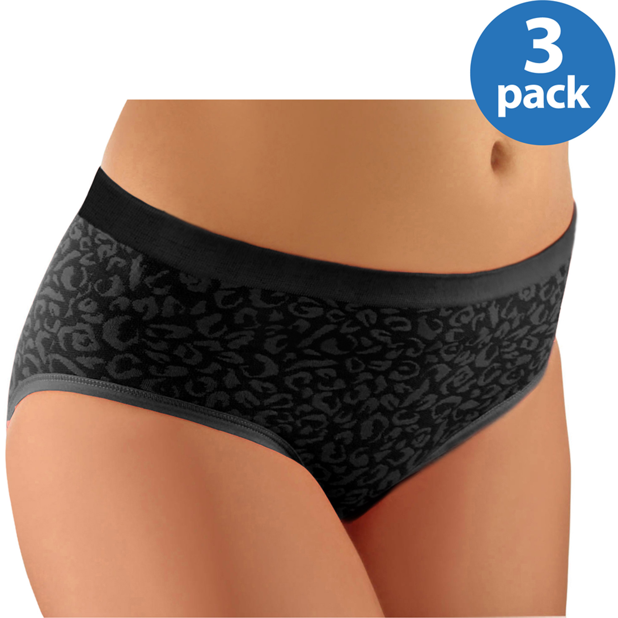 Women's Seamless Hipsters, 3-Pack