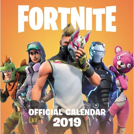 FORTNITE (OFFICIAL): 2019 Calendar (Websters Calendar)