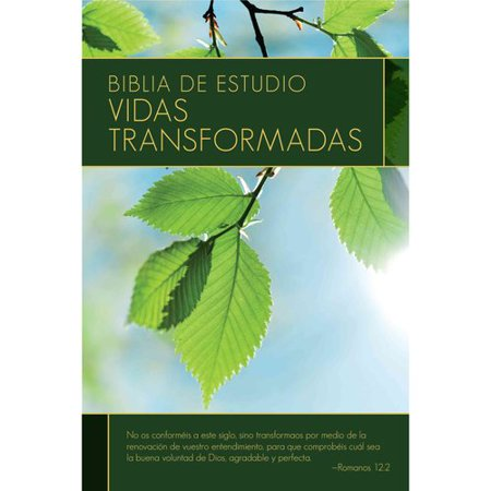 Biblia De Estudio Vidas Transformadas by
