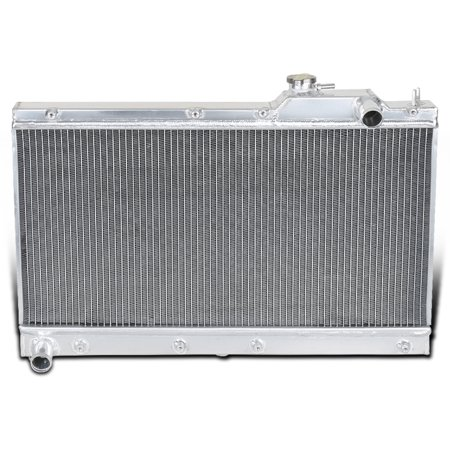 Spec-D Tuning For 1990-1997 Mazda Miata MX5 Manual 3-Row Aluminum Performance Cooling Radiator 1991 1992 1993 1994 1995 (Mazda Mx 5 Performance And Tuning Products)