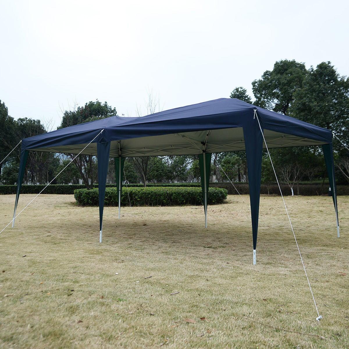 Apontus Outdoor Easy Pop Up Tent Cabana Canopy Gazebo with Carry Bag 10