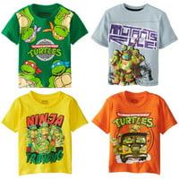 Summer Boys T-shirt Girl Kids Teenage Mutant Ninja Turtles TMNT Children