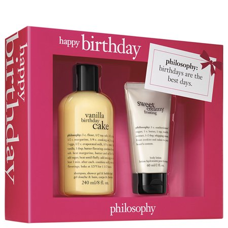 ($25 Value) Philosophy Happy Birthday Gift Set for Women, 2 Pc