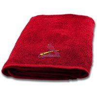 "MLB St. Louis Cardinals 25"" x 50"" Applique Bath Towel, 1 Each"