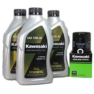 2013 kawsaki ninja 300 full synthetic oil change