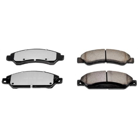 Power Stop Brake Pad  Z36 Extreme  Fmsi Number D1092  Carbon Fiber Ceramic  Set Of 4 Z36 1092