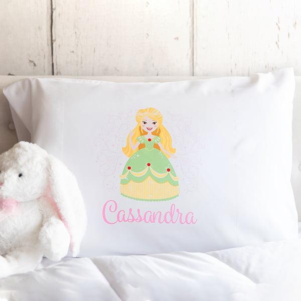 Personalized Princess Pillowcases Cassandra