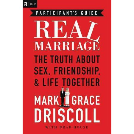Real Marriage: The Truth About Sex, Friendship, & Life Together: Participant's Guide You planned for the first day of your marriage. Are you planning for the last? While a wonderful wedding day is important, it's the last day of marriage that really counts. Will the last day of your marriage come prematurely through divorce? Will it be filled with regrets as you sit at the funeral of your spouse? Or, by God's grace, will the last day be a day to rejoice in the life you lived together? Pastor Mark Driscoll and his wife, Grace, want you to finish well on the last day. Through their book  Real Marriage  and the eleven-week DVD-based study they share practical help and hope with people just like them-who entered marriage a complete mess-or who are planning to be married someday and want to avoid some sticky pitfalls in the future. A companion to the  Real Marriage DVD-Based Study Kit,  this guide   is uniquely designed for small groups, couples, and those who are considering marriage. Each session in the Participant's Guide provides engaging group study questions and essential homework for husbands, wives, and singles alike. Together you, your spouse, and your small group will tackle the tough issues such as friendship with your spouse, pornography and sexual assault, submission and respect, and sexual intimacy in marriage. God desires for your marriage to be full of joy and happiness as it glorifies His Son. Jesus makes such marriage possible through His death and resurrection. The  Real Marriage Participant's Guide  includes: Eleven sessions Homework specially designed for husbands, wives, and singles Guides for conversations with your spouse Ideas for date nights Notes for small group leaders Intended for use with the  Real Marriage DVD-Based Study Kit  (ISBN: 978-1-4185-5040-0) and the trade book  Real Marriage