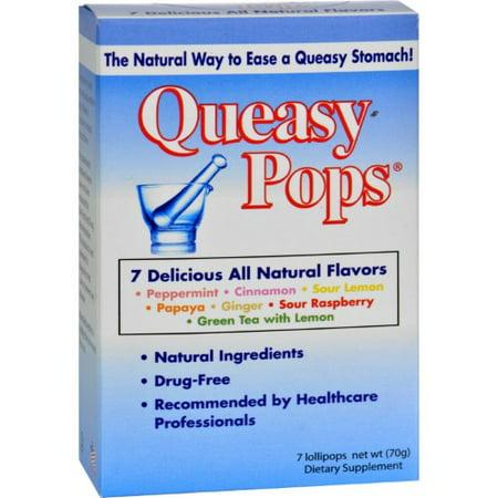 Three Lollies Queasy Pop Variety, 7 Ct Three Lollies Queasy Pops