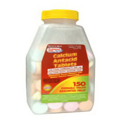 Preferred Plus Calcium Antacid Tablets, Assorted Fruits - 150 Ea