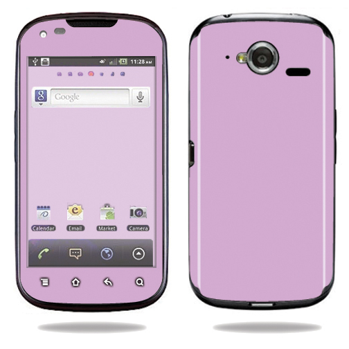 Mightyskins Protective Vinyl Skin Decal Cover for Pantech Burst P9070 Cell Phone At&t wrap sticker skins Solid Purple