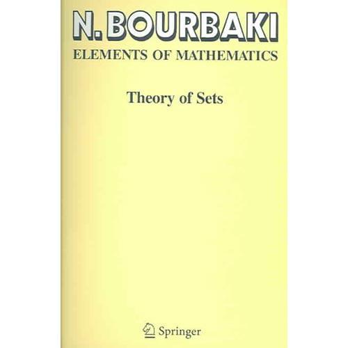 Elements Of Mathematics: Theory Of Sets