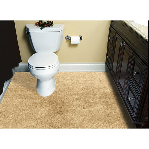 Customizable 6x8 Plush WalltoWall Bathroom Carpeting Walmartcom