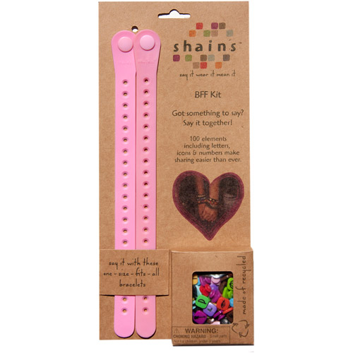 Shains BFF Kit with 100 Elements, Pink