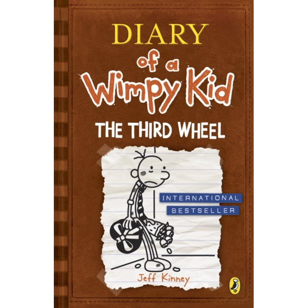 The Third Wheel Diary Of A Wimpy Kid Book 7 Paperback Walmart Com Walmart Com