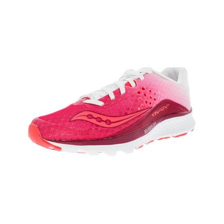 Women's Kinvara 8 Berry / White Ankle-High Running Shoe -