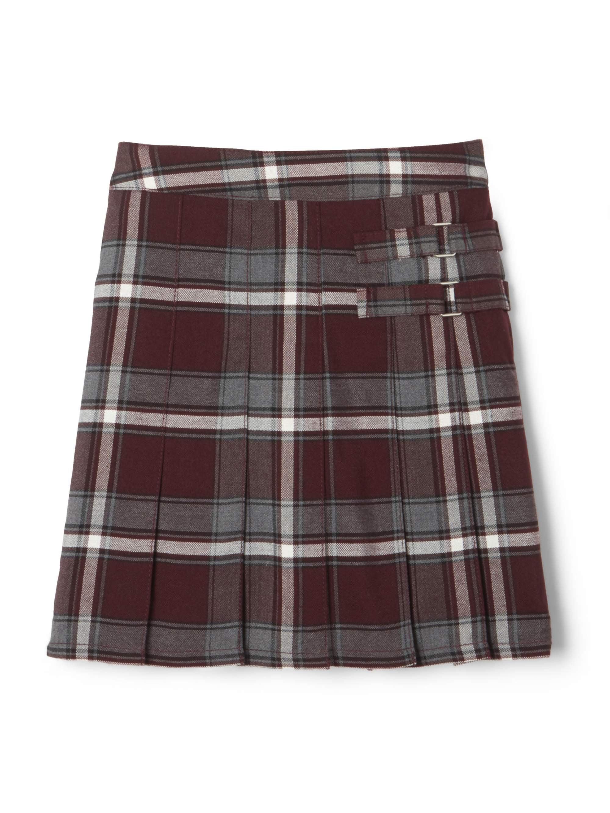 French Toast School Uniform Girls Regular /& Plus Sizes Pleat Plaid Scooter Skirt