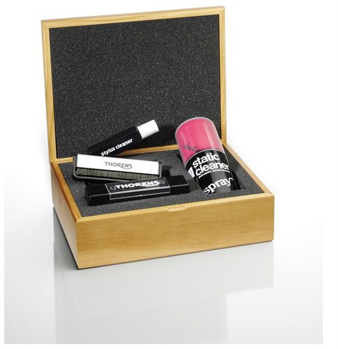 Thorens Cleaning Kit in Wooden Box (Full Set)