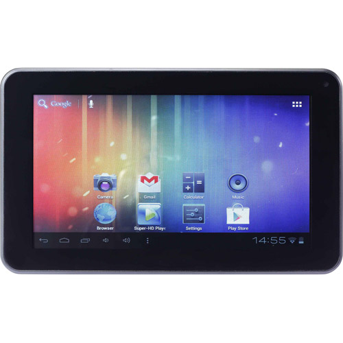 "Double Power 7"" Tablet with 4GB Memory"
