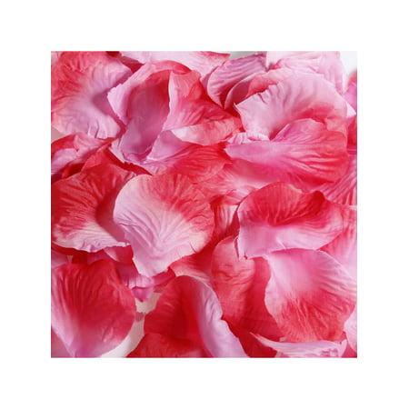 Romantic Wedding Ideas (100Pcs Silk Flower Rose Petal Romantic Wedding Favor Party Stage Decoration Valentine's Day)