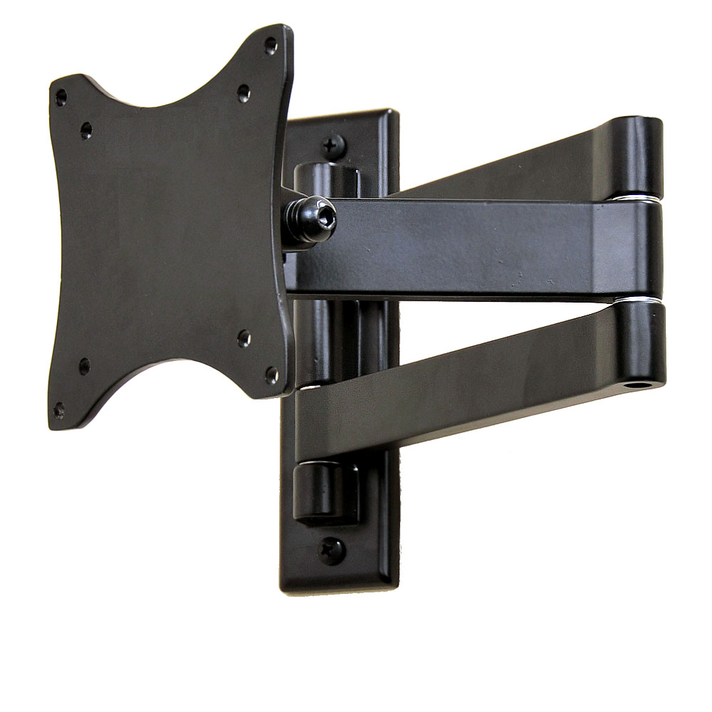 "VideoSecu Full Motion TV Monitor Wall Mount for LG 15-29"" 24LF4520 27MP57HT 28LF4520 29LB4505 LCD LED HDTV Bracket BW7"
