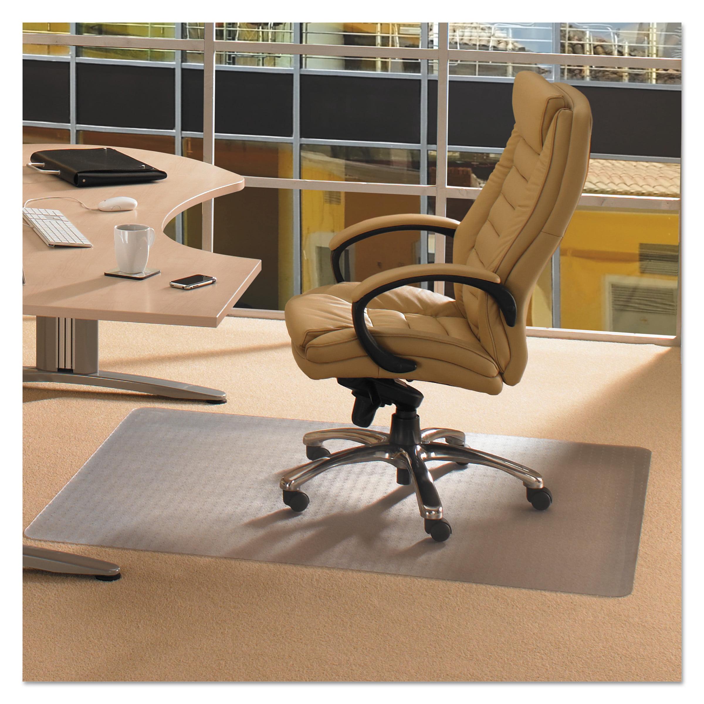 Floortex Cleartex Advantagemat 48 x 60 Chair Mat for Low Pile Carpet, Rectangular