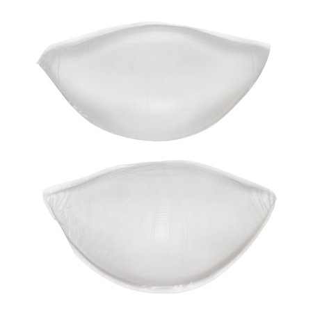 Flirtzy Silicone Soft Gel Bra Inserts Clear Breast Push Up Super Wedge Waterproof Push Up Bra Pads Chicken Cutlets Add a Cup Size Bra Pads