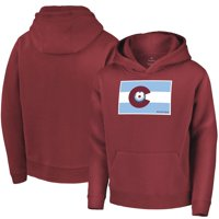 Colorado Rapids Fanatics Branded Youth Contribution Pullover Hoodie - Burgundy