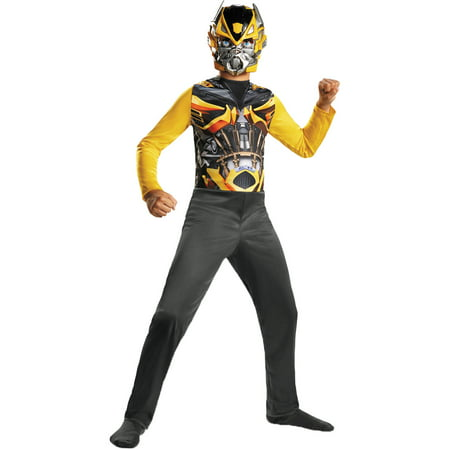 Bumblebee Basic Child Halloween Costume - - Bumblebee Transformers Costume