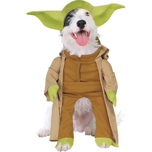 Yoda Dog Costume  Small