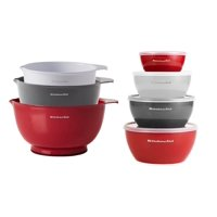 Kitchenaid 7-Piece Mix and Prep Set Bundle in Empire Red