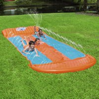 H2OGO! 18-Foot Triple Lane Water Slide with Ramp