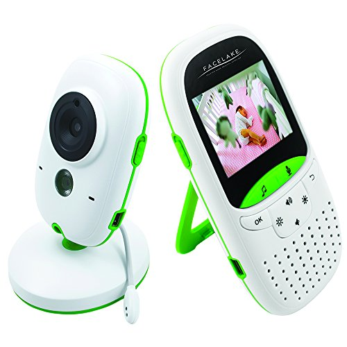 Facelake FL602 Video Baby Monitor with Night vision, Two Way Talk