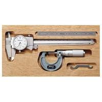 Mitutoyo Precision Measuring Tool Kit, 64PKA068A