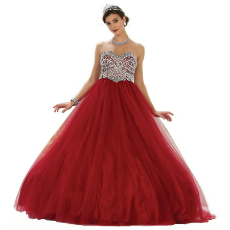 c562495e259 Formal Dress Shops Inc - SALE! SWEET 16 DESIGNER QUINCEANERA BALL GOWN -  Walmart.com