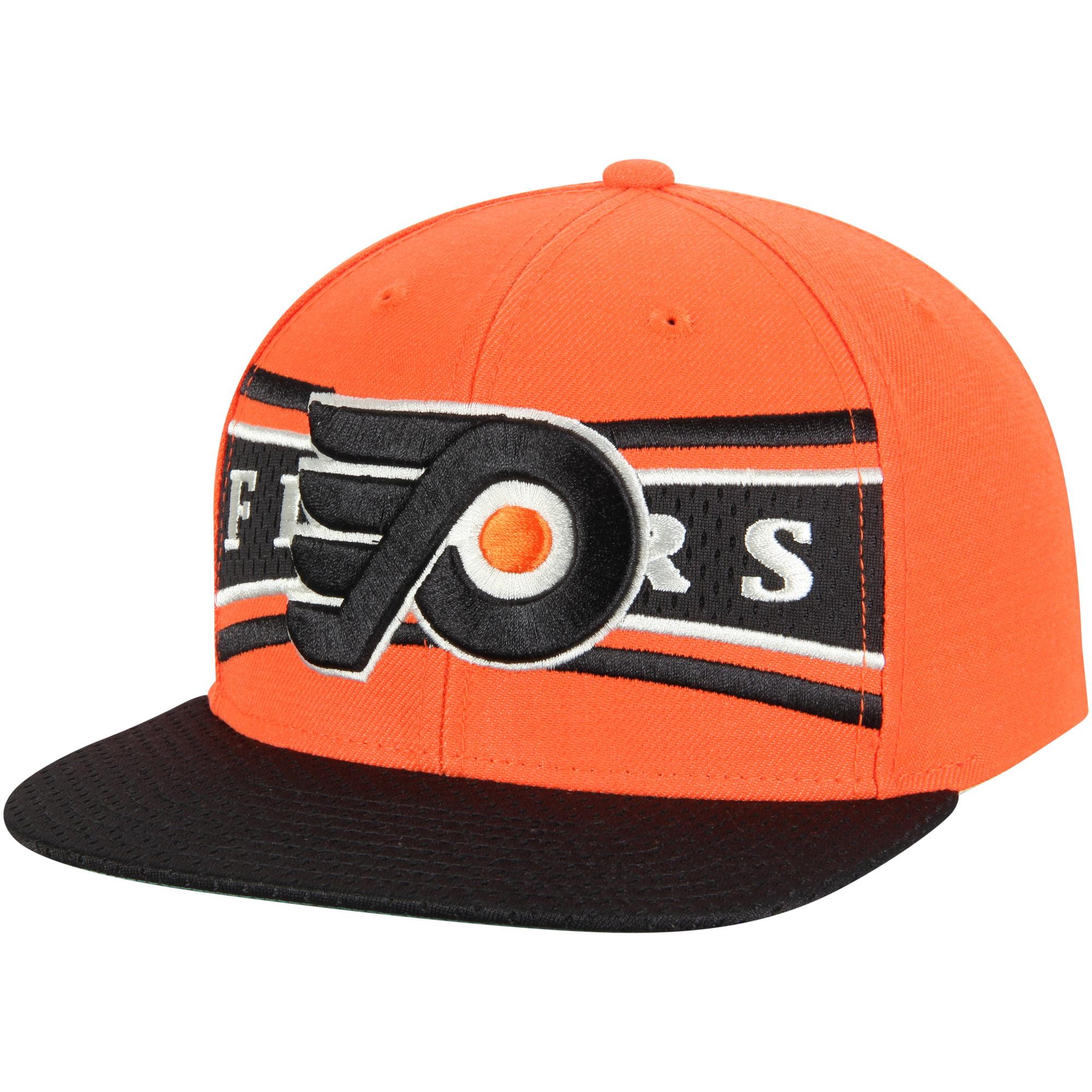 Philadelphia Flyers CCM Team Color Snapback Adjustable Hat - Orange - OSFA