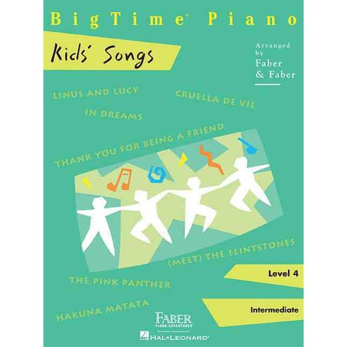 BigTime Piano Kids' Songs, Level 4: Intermediate