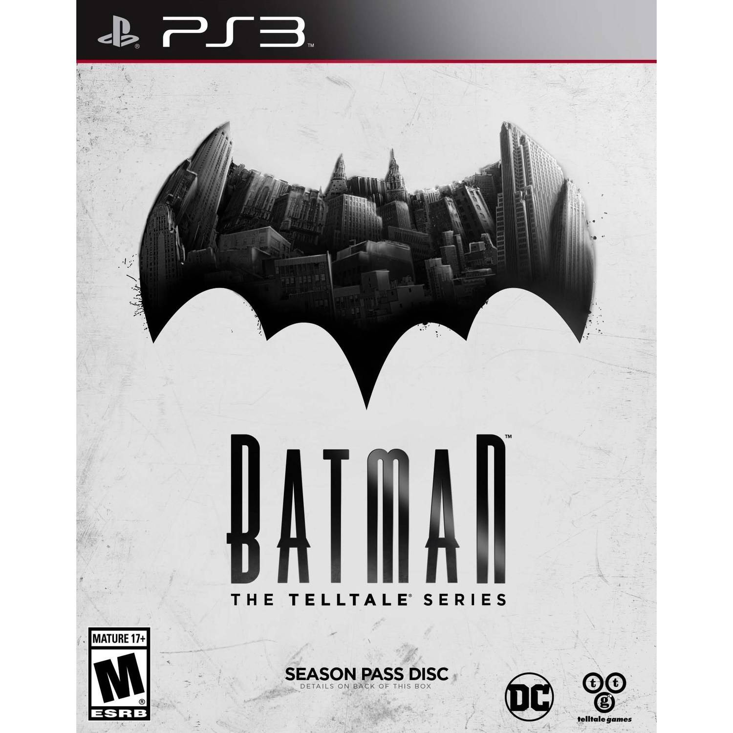 Batman: Telltale Series (Season Pass Disc), WHV Games, PlayStation 3, 883929558216