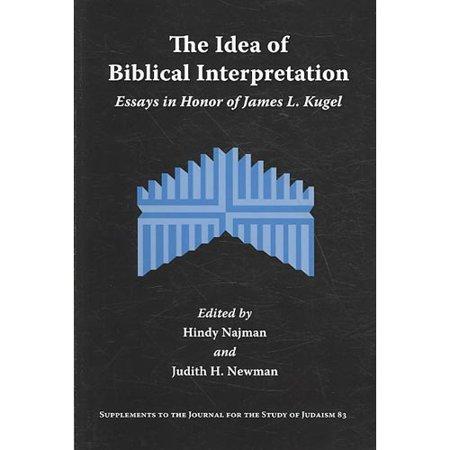 The Idea of Biblical Interpretation: Essays in Honor of James L. Kugel - Biblical Dress Up Ideas
