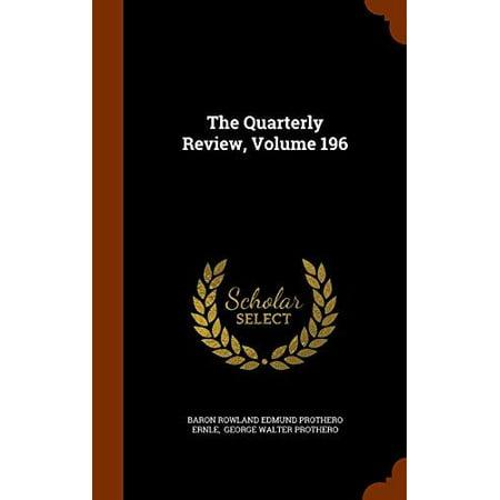 The Quarterly Review, Volume 196 - image 1 de 1
