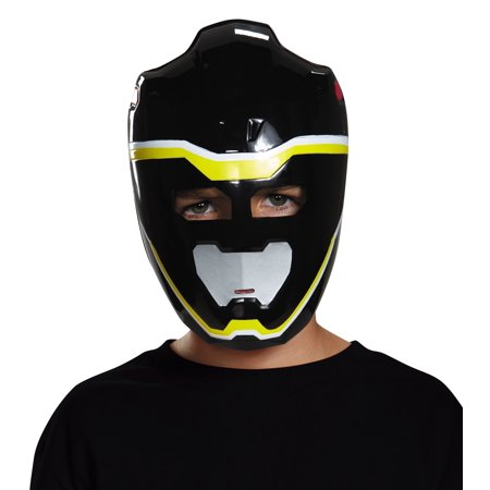 Disguise Black Ranger Dino Charge Vacuform Mask Costume](Black Ranger Mask)