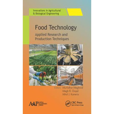 Food Technology  Applied Research And Production Techniques