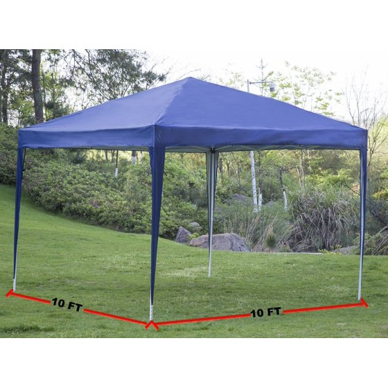 10 X10 Ez Pop Up Canopy Tent Folding Party Wedding Outdoor Patio Heavy Duty Gazebo Pavilion
