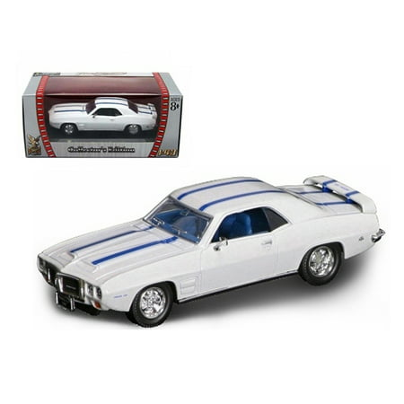 1969 Pontiac Firebird Trans Am White 1/43 Diecast Car by Road Signature 1969 Trans Am Convertible