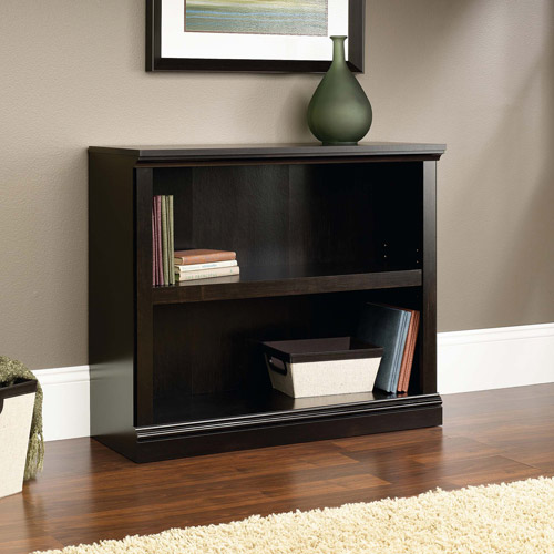 Sauder 2-Shelf Bookcase, Multiple Colors