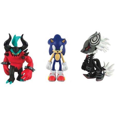 Action Figures - Sonic the Hedgehog - Infinite, Zavok, and Sonic with (List Of All Sonic The Hedgehog Characters)