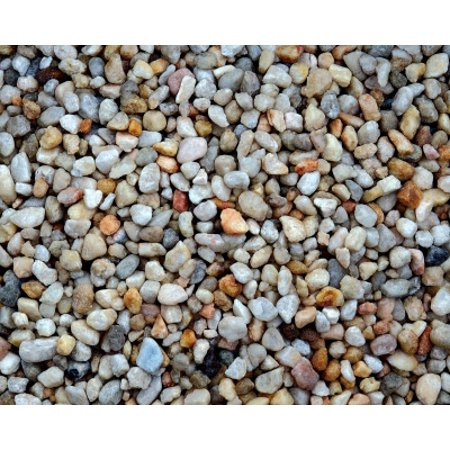 Estes gravel spectrastone ocean beach pebble natural 25 for Walmart fish gravel